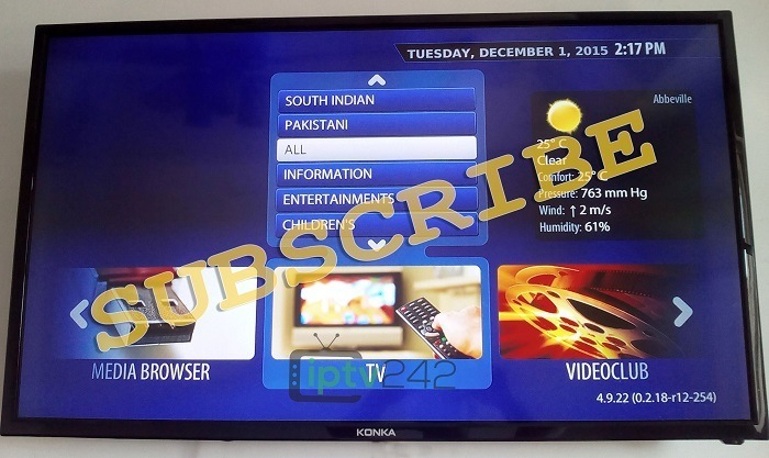 Subscribe to the iptv starter pack