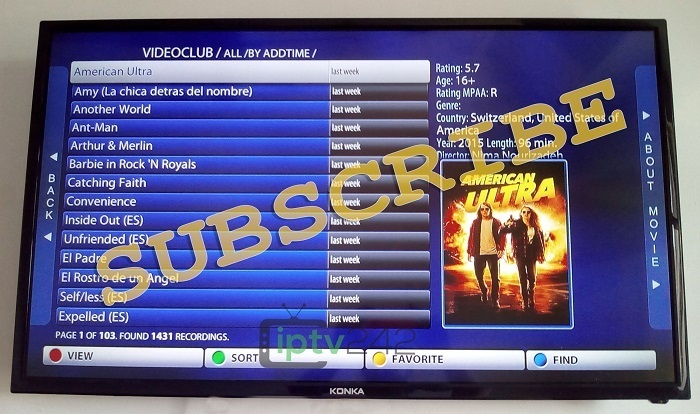 Express Pack - IPTV Subscription  1 Month - 1 Year NEW TS Technology  Included