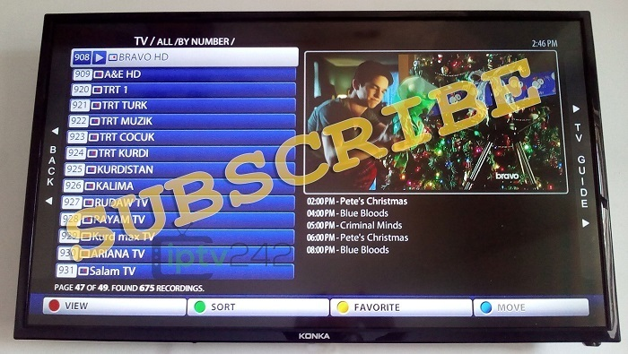 Euro Pack - IPTV Subscription  1 Month - 1 Year NEW TS Technology Included